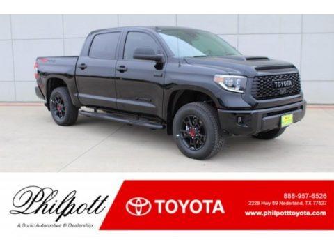 Midnight Black Metallic 2019 Toyota Tundra TRD Pro CrewMax 4x4