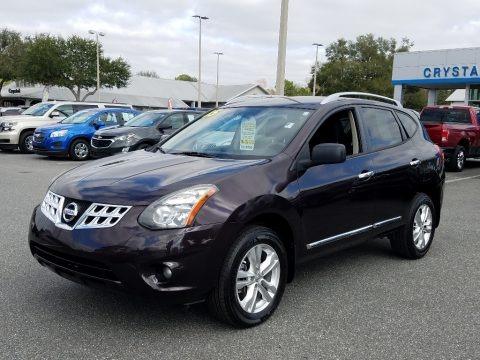 Black Amethyst 2015 Nissan Rogue Select S