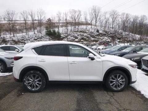 Snowflake White Pearl Mica 2019 Mazda CX-5 Grand Touring Reserve AWD