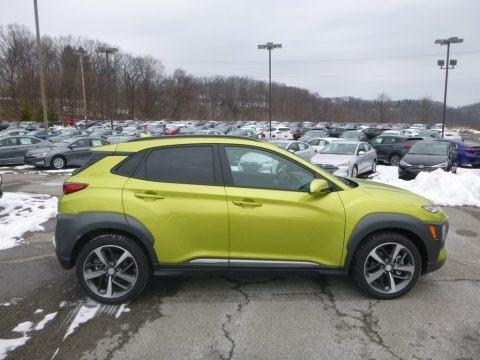 Lime Twist 2019 Hyundai Kona Ultimate AWD
