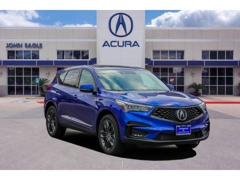 Apex Blue Pearl 2019 Acura RDX A-Spec AWD