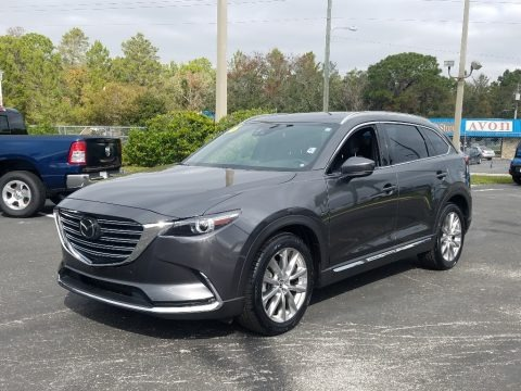 Machine Gray Metallic 2016 Mazda CX-9 Grand Touring AWD