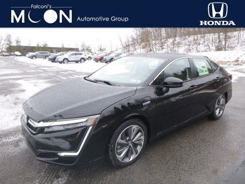 Crystal Black Pearl 2018 Honda Clarity Plug In Hybrid