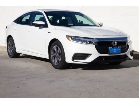 White Orchid Pearl 2019 Honda Insight LX