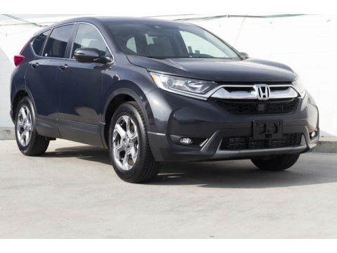 Gunmetal Metallic 2019 Honda CR-V EX-L