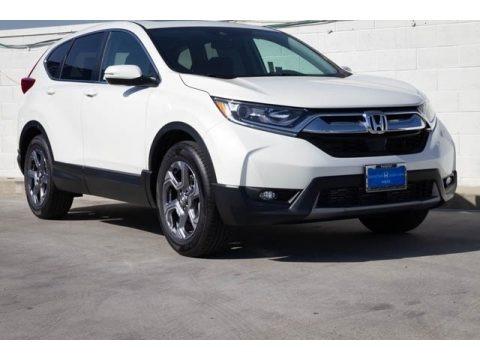 Platinum White Pearl 2019 Honda CR-V EX
