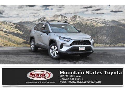 Silver Sky Metallic 2019 Toyota RAV4 LE AWD