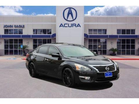 Super Black 2013 Nissan Altima 2.5 S