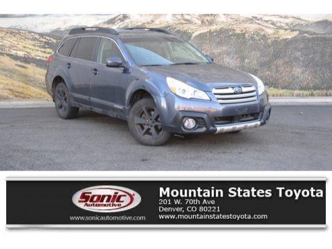 Carbide Gray Metallic 2014 Subaru Outback 2.5i Limited