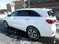 Kia Sorento SX AWD Snow White Pearl photo #5