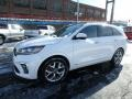 Kia Sorento SX AWD Snow White Pearl photo #7