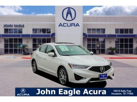 Lunar Silver Metallic 2019 Acura ILX Technology