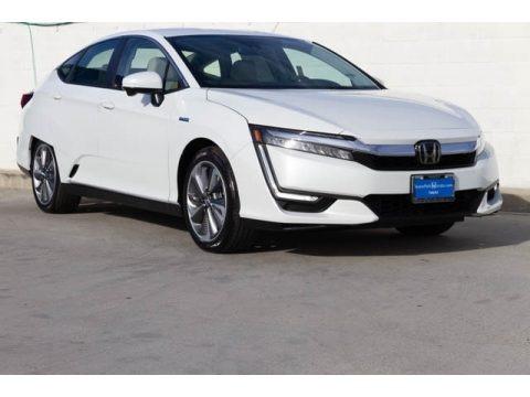 Platinum White Pearl 2019 Honda Clarity Plug In Hybrid