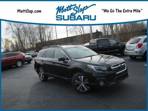 Crystal Black Silica 2018 Subaru Outback 2.5i Limited