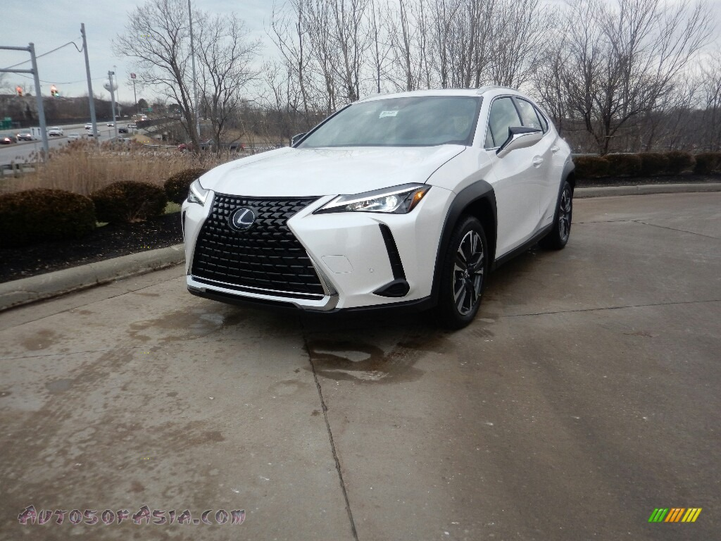 2019 UX 250h AWD - Eminent White Pearl / Black photo #1