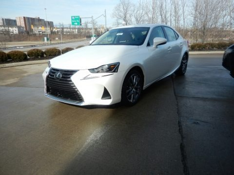 Eminent White Pearl 2019 Lexus IS 300 AWD