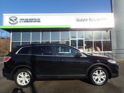 Brilliant Black 2012 Mazda CX-9 Touring AWD