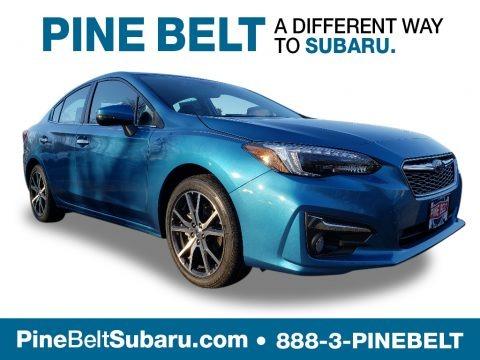 Island Blue Pearl 2019 Subaru Impreza 2.0i Limited 4-Door
