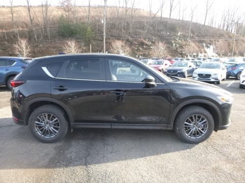 Jet Black Mica 2019 Mazda CX-5 Touring AWD