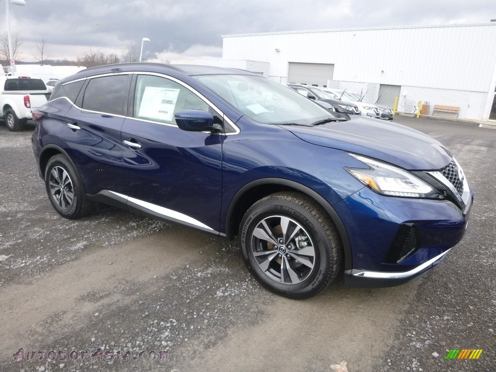 2019 Murano SV AWD - Deep Blue Pearl / Cashmere photo #1