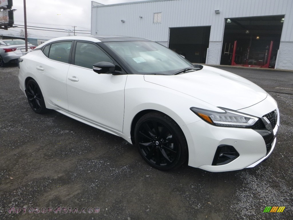 2019 Maxima SR - Pearl White Tricoat / Charcoal photo #1