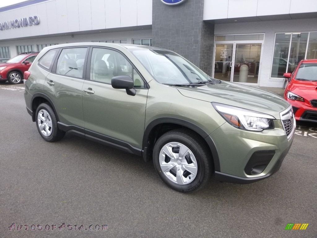 Jasper Green Metallic / Gray Subaru Forester 2.5i