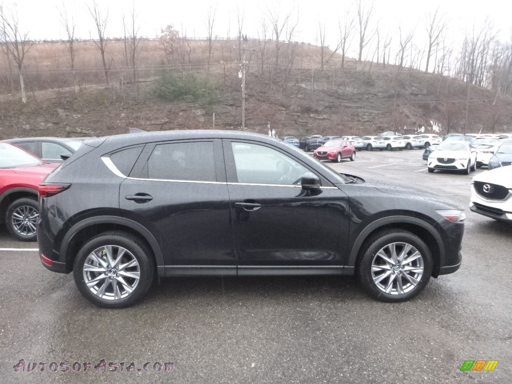 2019 CX-5 Grand Touring AWD - Jet Black Mica / Black photo #1