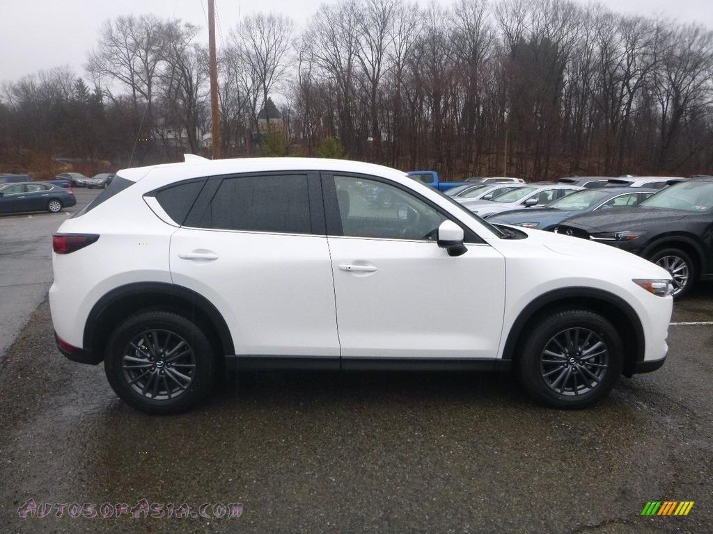 2019 CX-5 Touring AWD - Snowflake White Pearl Mica / Black photo #1