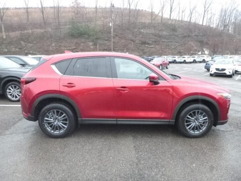 Soul Red Crystal Metallic 2019 Mazda CX-5 Touring AWD