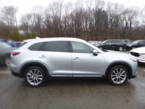 Sonic Silver Metallic 2019 Mazda CX-9 Grand Touring AWD