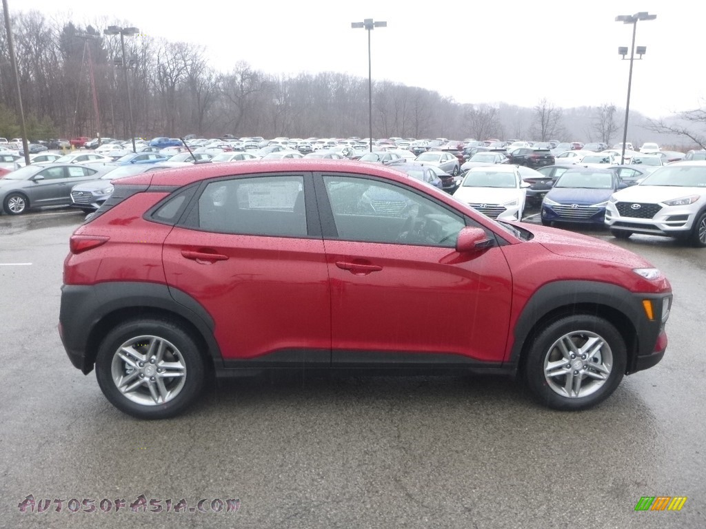 2019 Kona SE AWD - Pulse Red / Black photo #1