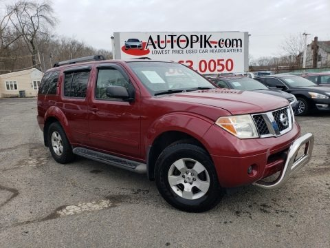 Red Brawn Pearl 2005 Nissan Pathfinder XE 4x4