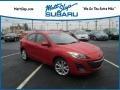 Mazda MAZDA3 s Sport 4 Door Velocity Red Mica photo #1