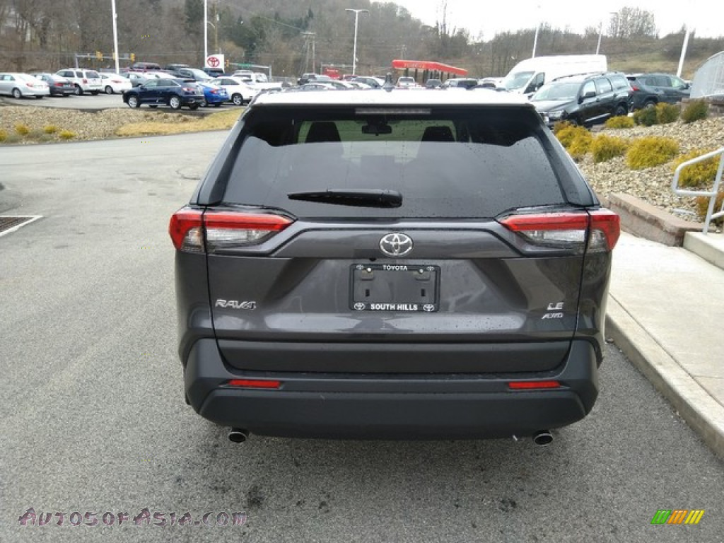 2019 RAV4 LE AWD - Magnetic Gray Metallic / Black photo #4
