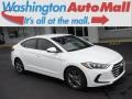 Hyundai Elantra SEL Quartz White Pearl photo #1
