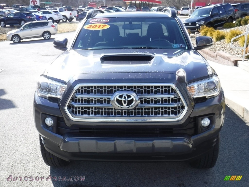 2017 Tacoma TRD Sport Double Cab 4x4 - Magnetic Gray Metallic / TRD Graphite photo #7