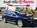Acura RDX Technology AWD Fathom Blue Pearl photo #1