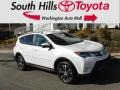 Toyota RAV4 Limited AWD Blizzard Pearl photo #1