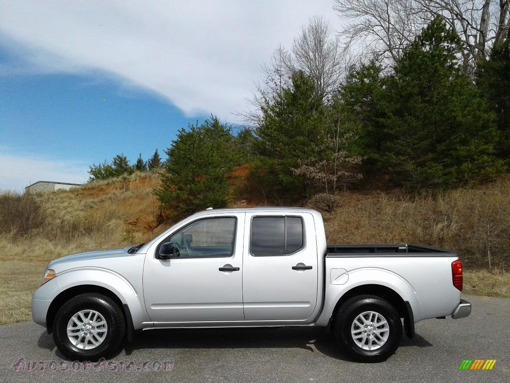 Brilliant Silver / Steel Nissan Frontier SV Crew Cab 4x4