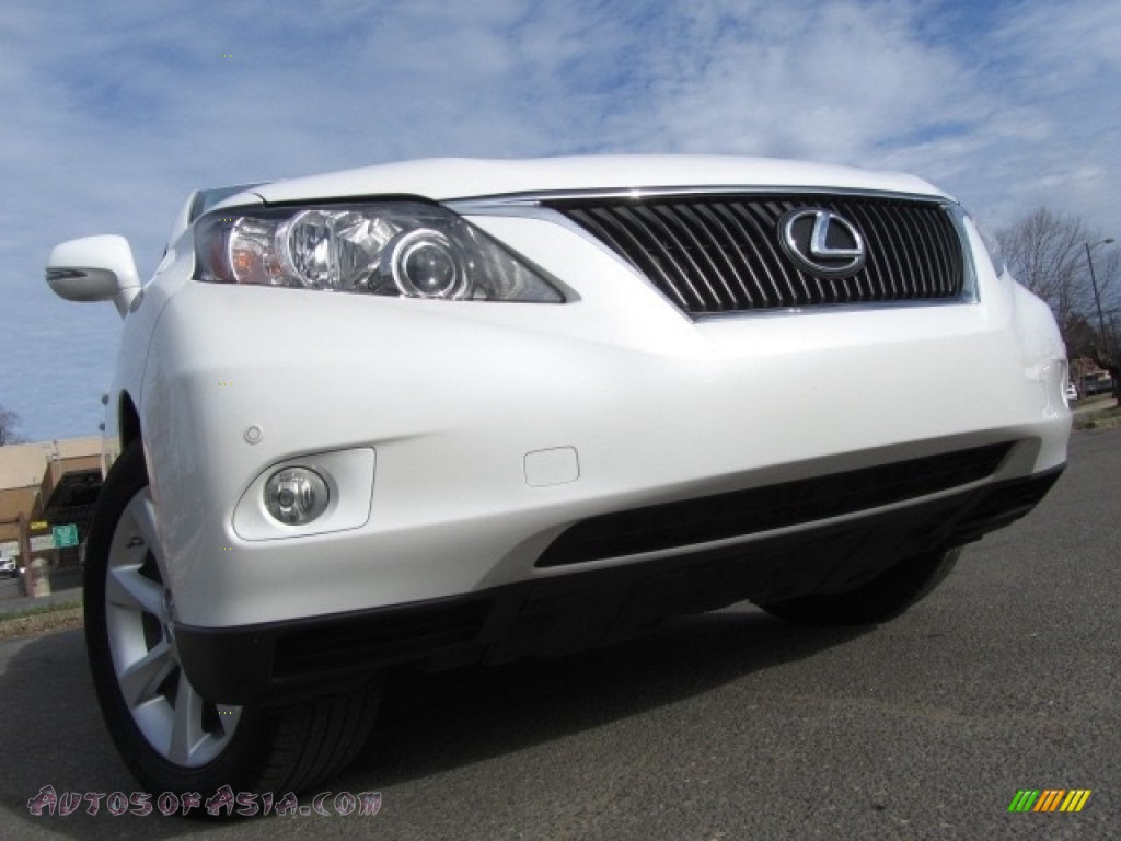2010 RX 350 - Starfire White Pearl / Light Gray/Espresso Birds-Eye Maple photo #1