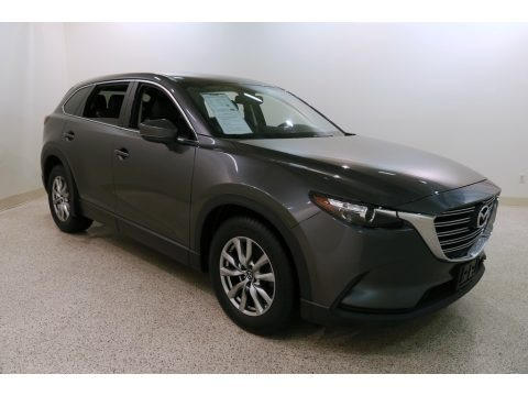 Machine Gray Metallic 2016 Mazda CX-9 Touring AWD