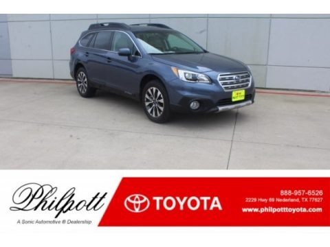 Twilight Blue Metallic 2017 Subaru Outback 2.5i Limited