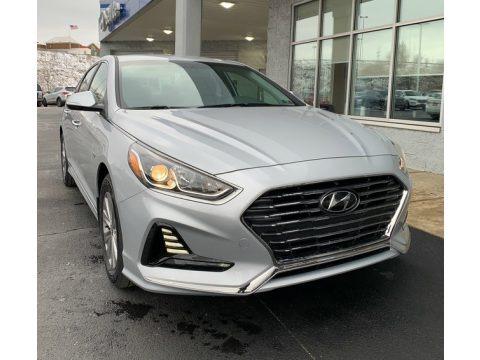 Symphony Silver 2019 Hyundai Sonata Hybrid Limited