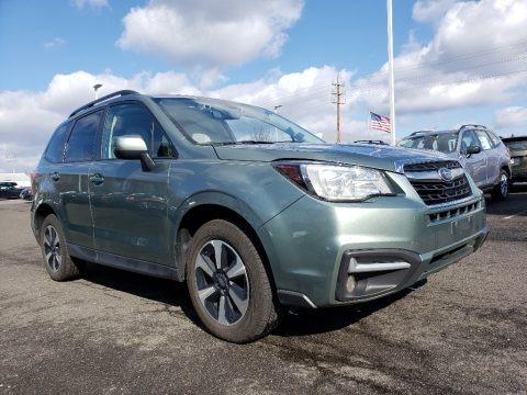 Jasmine Green Metallic 2017 Subaru Forester 2.5i Premium