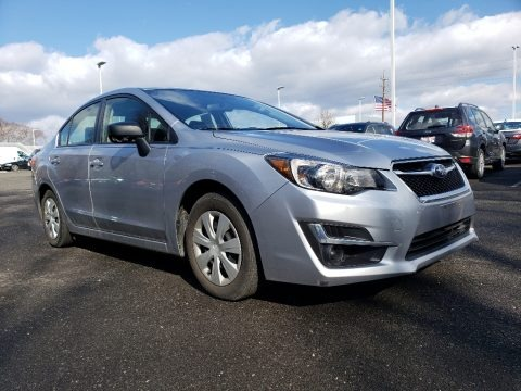 Ice Silver Metallic 2016 Subaru Impreza 2.0i 4-door