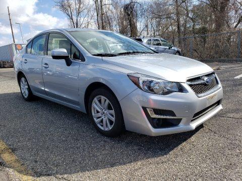 Ice Silver Metallic 2016 Subaru Impreza 2.0i Premium 4-door