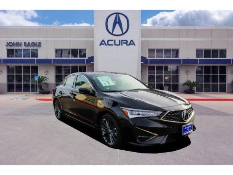 Majestic Black Pearl 2019 Acura ILX A-Spec