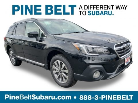 Crystal Black Silica 2019 Subaru Outback 3.6R Touring