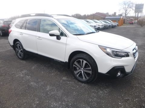 Crystal White Pearl 2019 Subaru Outback 2.5i Limited