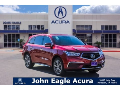 Performance Red Pearl 2019 Acura MDX